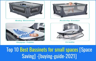 Best Bassinets for small spaces